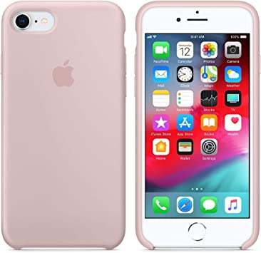 Funda iPhone 7/8 Rosa Silicona - Accesorios para celulares