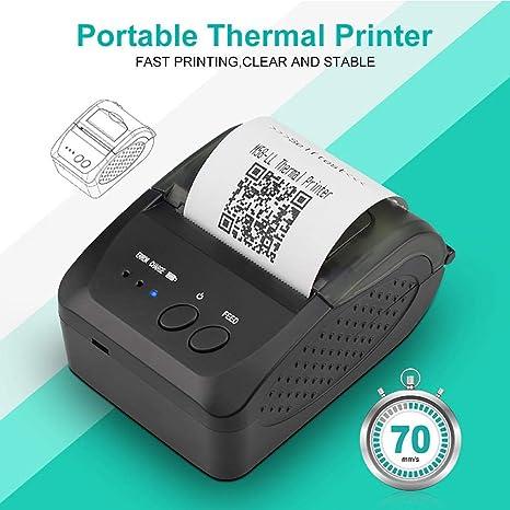 Ranget Impresora térmica de Recibos Impresora POS Impresora ...