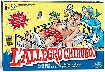 Hasbro Gaming - Operación, edición clásica (versión en Italiano): Amazon.es: Juguetes y juegos