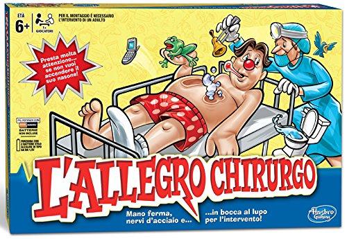 93 opinioni per Hasbro- Allegro Chirurgo Gioco da Tavolo
