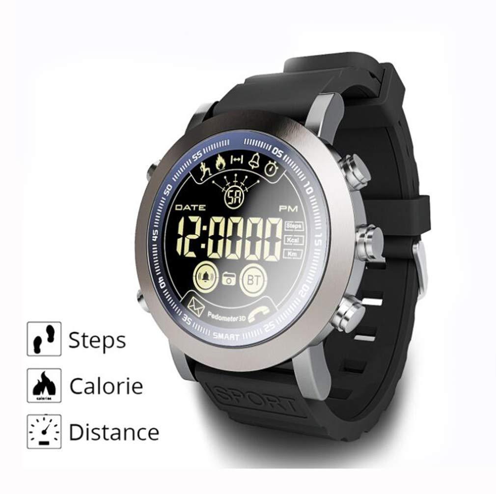 YZ-YUAN Monitores de Actividad Smartwatch de Pantalla Circular a ...
