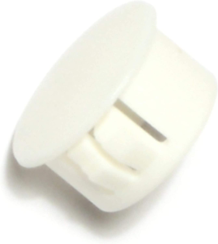 5//8-Inch Hard-to-Find Fastener 014973169749 White Hole Plug