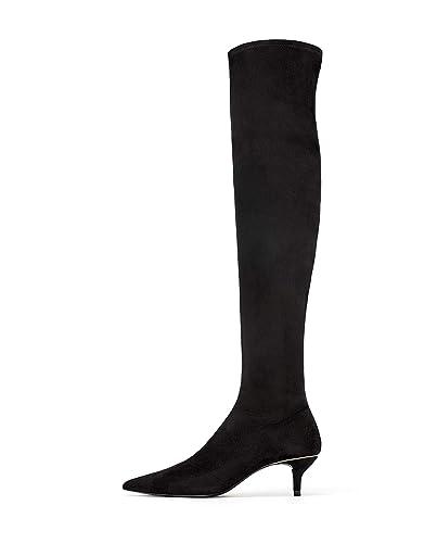 nuovo prodotto 28575 e3564 Zara, Stivali donna Nero Nero, Nero (Nero), 42 2/3: Amazon.it ...