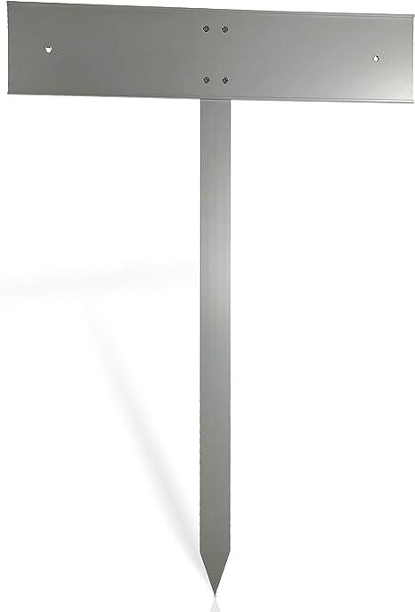 Parkplatzschild mit Standpfosten zum anschrauben Motiv Schild Privat