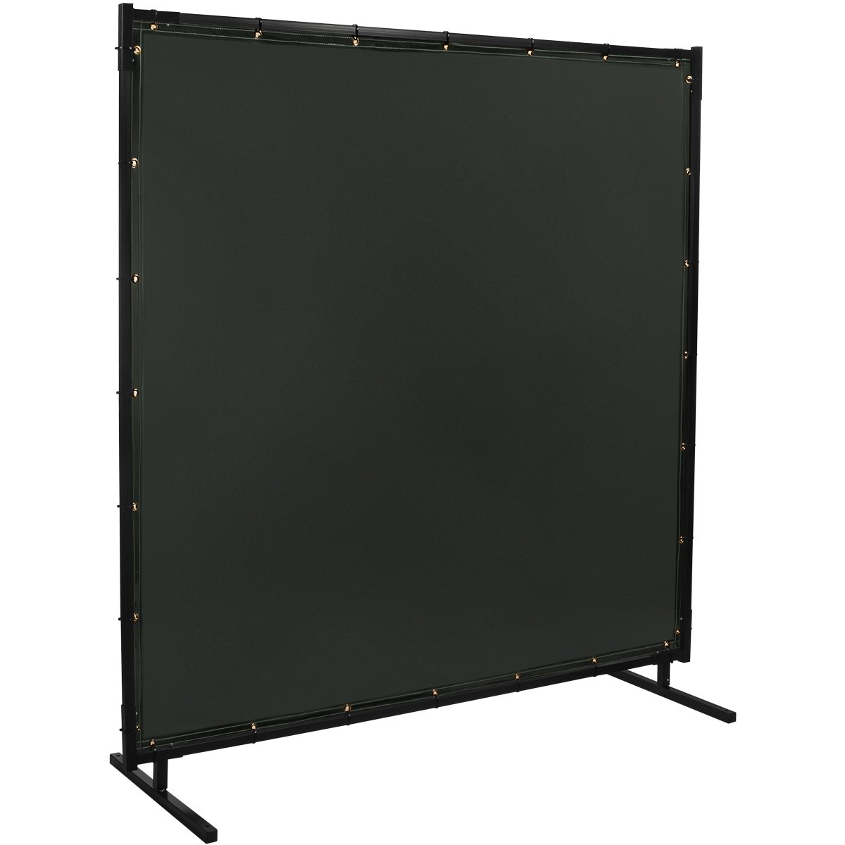 Steiner 522HD-6X10 Protect-O-Screen HD Welding Screen with Flame Retardant 14 Mil Tinted Transparent Vinyl Curtain, Shade 8, 6' x 10' 6' x 10' ERB