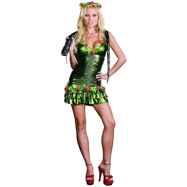 amazoncom dreamgirl sexy naughty garden of eden eve adult halloween costume clothing