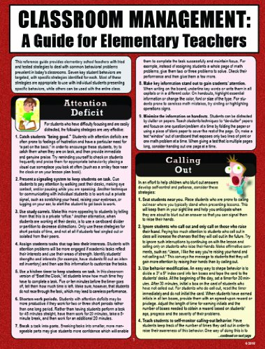 Classroom Management: A Guide for Elementary Teachers