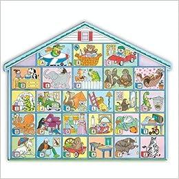 Amazoncom Alphabet House Floor Puzzle Giant Floor Puzzles
