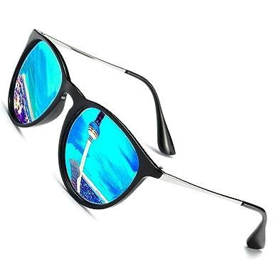 18c9482ad30b5a Perfectmiaoxuan Vintage Polarisierte Sonnenbrille damen herren/Sommer  Strand Sonnenbrille Fahrer Brille 100% UV400 Schutz für Autofahren Reisen  Golf ...