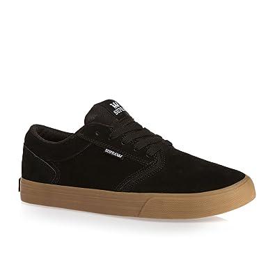 Supra Mens Shredder Black Gum Shoes
