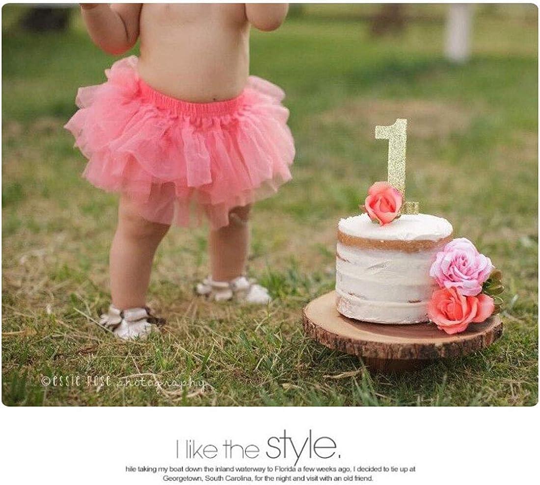 STOBOK Baby Fotografie Prop Infant Tutu Rock Neugeborenen Kost/üm Bowknot Kleid Outfits mit Stirnband Rot