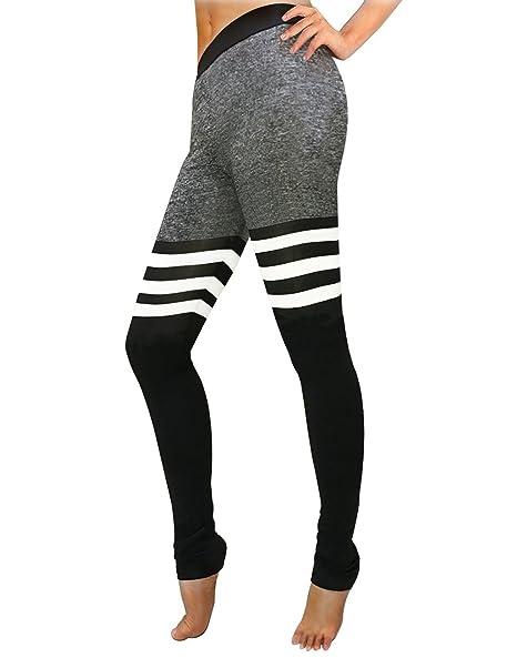 1a5a74a270882 Amazon.com  iPretty Women Sports Skinny Running Legging Trousers ...