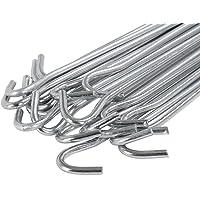 Yaheetech 20 x haringen 30 cm tentharingen tentharingen grondnagels staal verzinkt