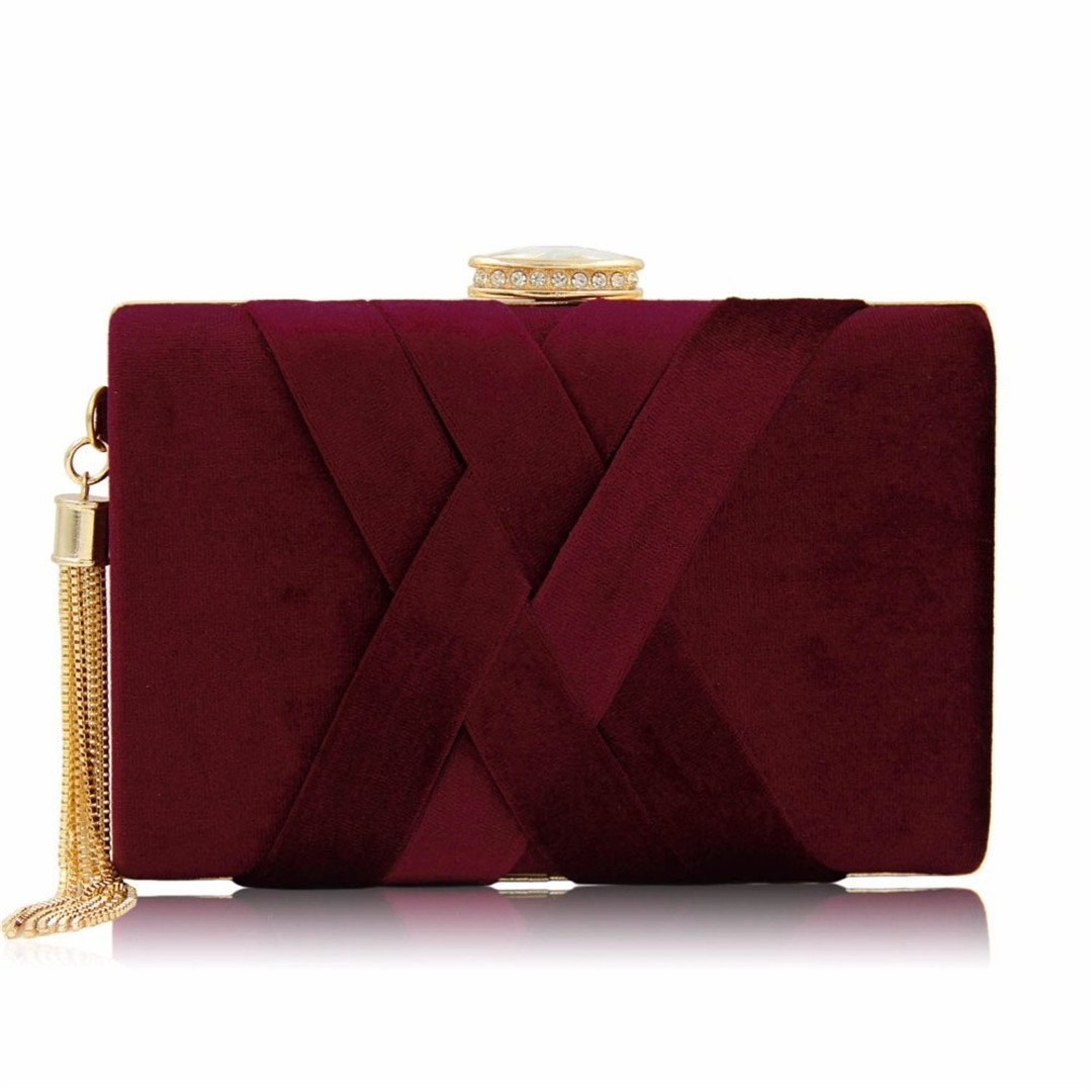 Clutch Bags Suede Purses...