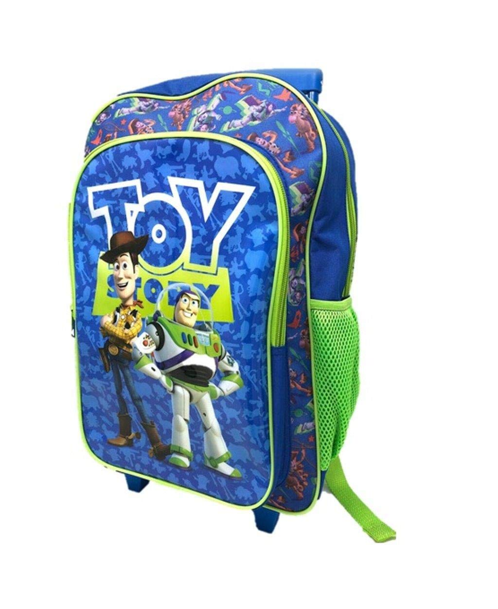 Toy Story 4 Children's Character Luggage Deluxe Wheeled Trolley Backpack Suitcase Cabin Bag School