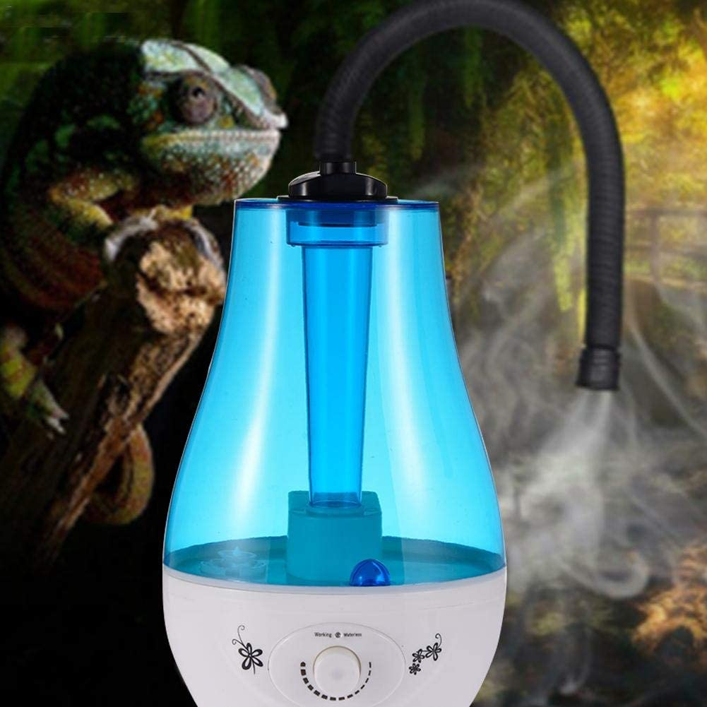 Inkbird Humidificador de Niebla para Mascotas Gran Capacidad de 4L Humidificador Silencioso para Reptiles Anfibios Terrario Apagado Autom/ático