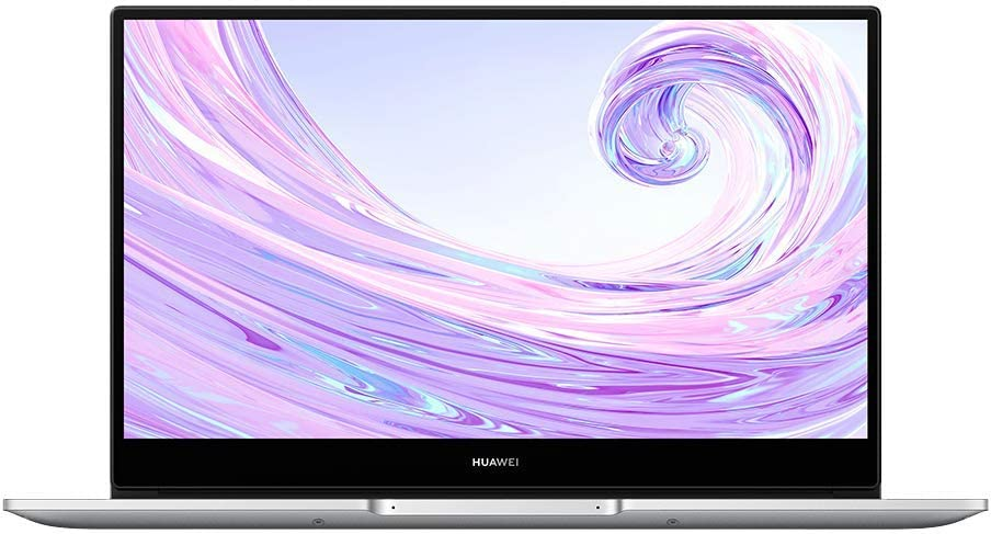 Huawei Matebook D14 Laptop - 14'' FHD Screen with 4.8mm bezels, AMD Ryzen5 3500U with Radeon Vega 8, 8 GB DDR4 RAM, 512GB NVME SSD Windows 10 International Version No Warranty