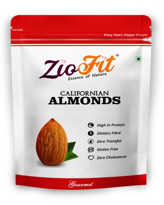Ziofit Californian Almonds, 200g (Buy 1 Get 1 Free) – 400gms