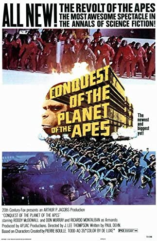 Amazon.com: Conquest of the Planet of the Apes POSTER Movie (27 x ...
