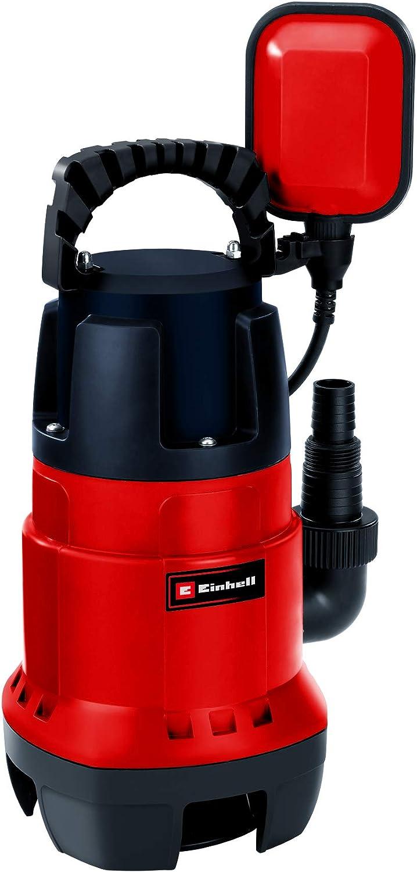 Einhell GC-DP 7835 -Bomba de aguas sucias(780W, capacidad de 15.700 l/h, profundidad max. de inversión 7m, conexión de manguera 47.8mm, cuerpos extraños hasta 35 mm, interruptor de flotador continuo)