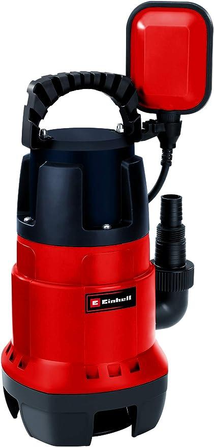 Einhell GC-DP 7835 -Bomba de aguas sucias(780W, capacidad de 15.700 l/h, profundidad max. de inve...