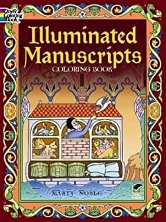 Illuminated Manuscripts Coloring Book Dover Art