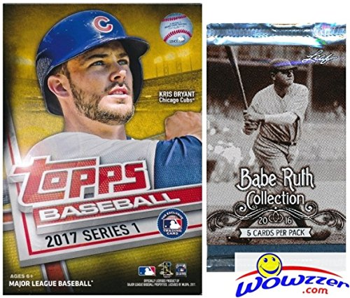 2017 Topps Series 1 MLB Baseball EXCLUSIVE Factory Sealed...