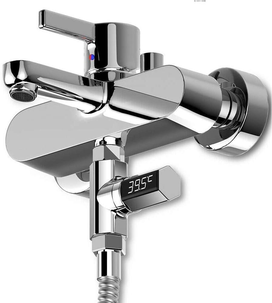 Wasser Thermometer Als Show Wasserfest LED Display Bad Meter Digital Babyphone Visual Duschen Temperatur Baby Tester f/ür Home Zubeh/ör