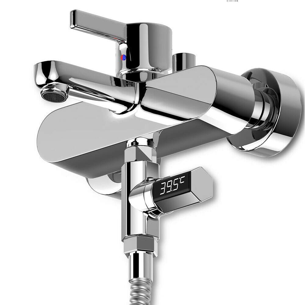 vap26 Agua Term/ómetro LED Agua Metro Ba/ño Beb/é Agua de Medir Instrumento Baby Shower Producto Exacta Agua Temperatura Hora del Ba/ño Divertido para Beb/és