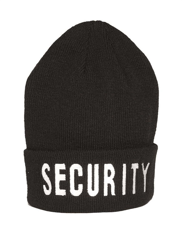 Rollstrickmütze Security [Misc.]