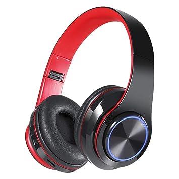 Gaming Auriculares Inalámbricos, Bluetooth Overhead Auriculares Que Rodean Ruido Cancelación Micrófono Para PC/Nintendo