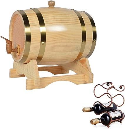 ZGQJT Whisky Barrel 10L, Roble Durable Bar Restaurante Cubo ...