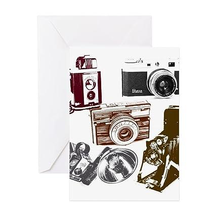 Amazon Cafepress Retro Photographer Vintage Camera Greeting
