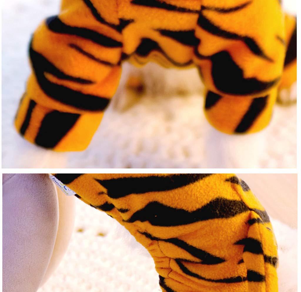 R-Cors Vestiti per Animali Domestici Giacca con Cappuccio Cosplay Tigre Top per Cani Vestiti per Cani Carino Calda Cappotto Multicolore,M
