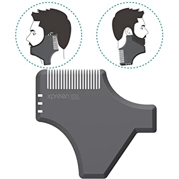 Xpreen Beard Kamm Multifunktions Bart Styling Gestaltung Werkzeug ...