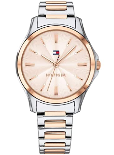 Tommy Hilfiger Reloj Analógico para Mujer de Cuarzo con Correa en Acero Inoxidable 1781952: Amazon.es: Relojes