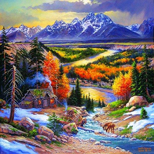 Fall Retreat 500 Piece Jigsaw Puzzle by ()