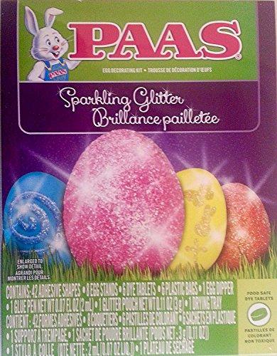 PAAS 37100 Sparkling Glitter Egg Decorating