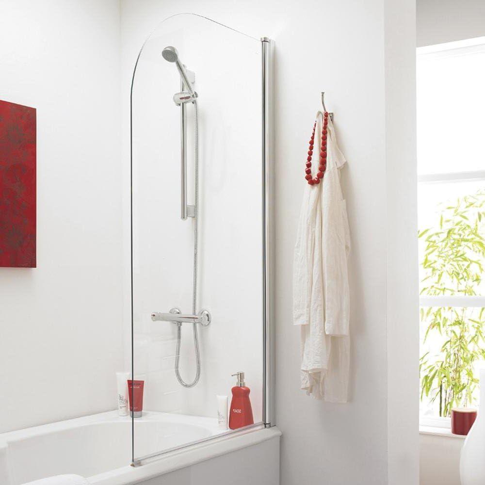Home Standard - Mampara de baño con bisagras y Cristal Templado de ...