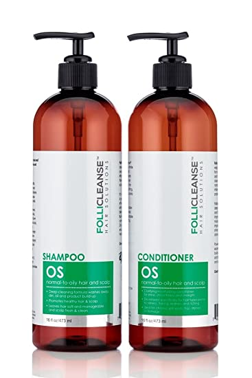 Amazon com : Follicleanse OS Kit - 16 oz Our Best Shampoo