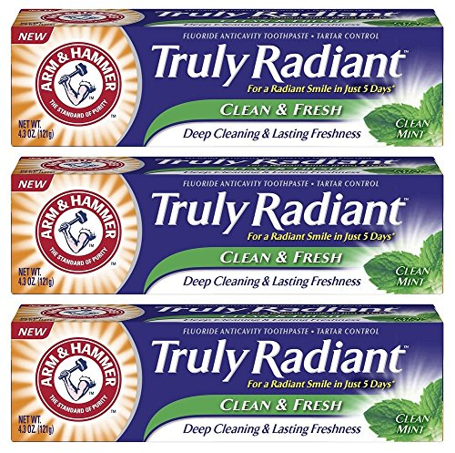 arm-hammer-truly-radiant-clean-fresh-fluoride-toothpaste-clean-mint-43-ounce-pack-of-3
