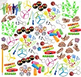 120 Piece Bulk Party Favor Bundle Assortment Pack of Toys for Parties, Pinatas, Claw Machines, Classroom or Carnivals