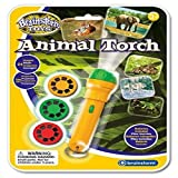 Eureka Wildlife Animal Torch & Projector Educational Toy Childrens by Brainstorm