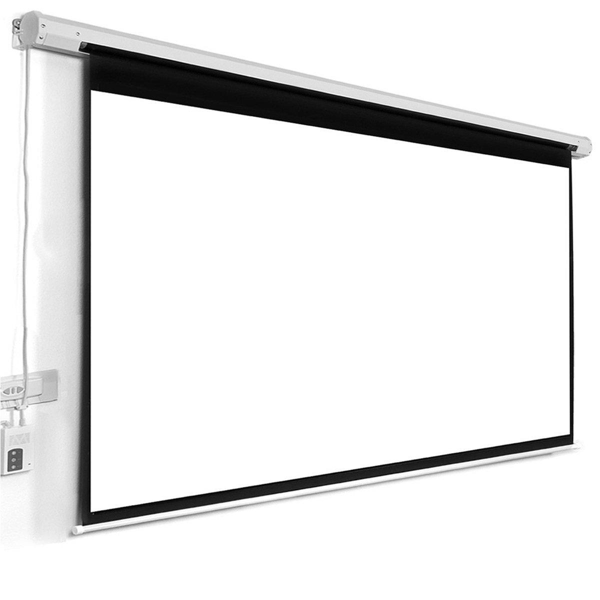 Pantalla Electrica Globalscreen Basic 150x150cm Para Proyector ...