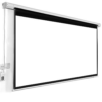 Pantalla Electrica Globalscreen Basic 150x150cm Para Proyector