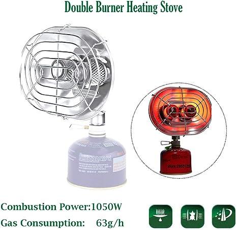 Calentador de estufa de calefacción doble al aire libre, estufa de ...