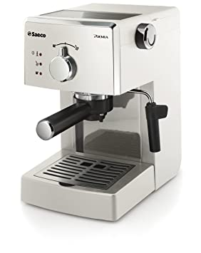Saeco HD8423/28 - Cafetera de espresso manual, color blanco: Amazon.es: Hogar