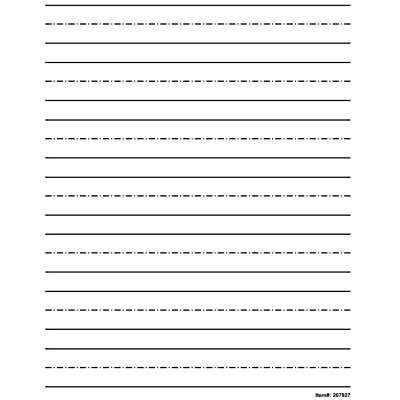 Low Vision Practice Writing Paper- Bold Line: Health & Personal Care