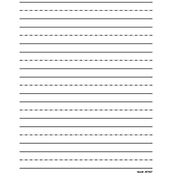 Amazon.com: Low Vision Practice Writing Paper- Bold Line: Health ...