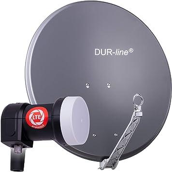 DUR-line Select 75/80 Juego de antena de satélite [LNB ...